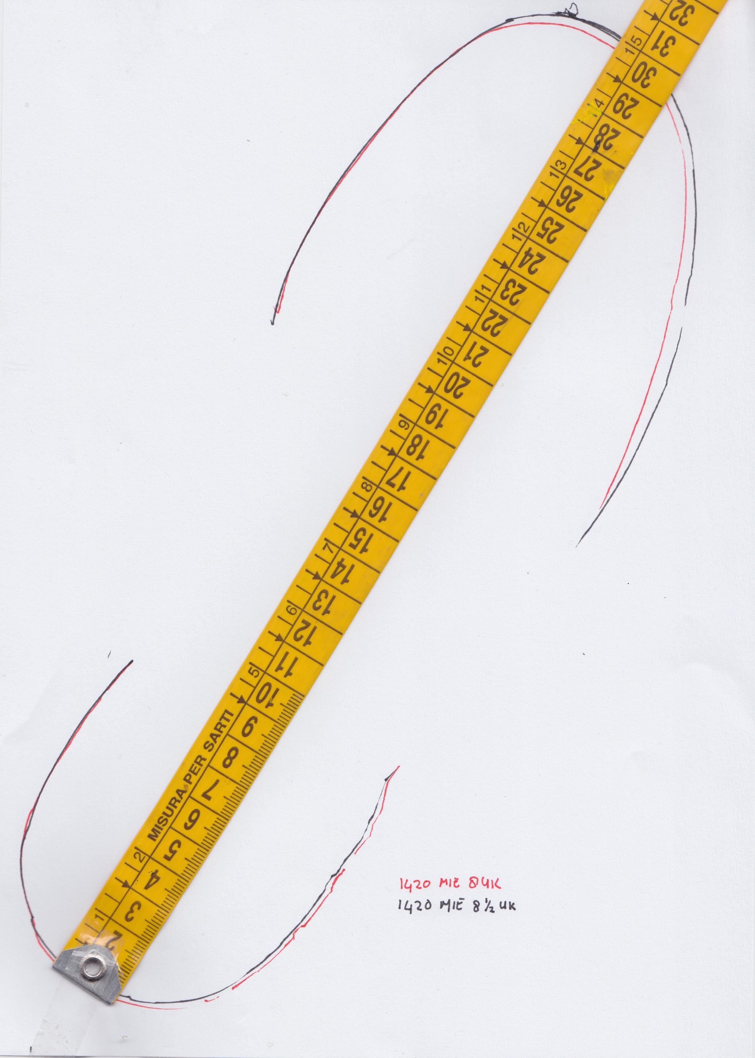 Dr Martens shoe size guide
